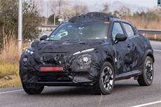 new 2019 nissan juke mk2 crossover spied for the