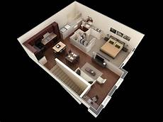 modern one bedroom house plans 1 bedroom apartment house plans smiuchin