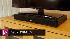 denon dht t100 speaker base review