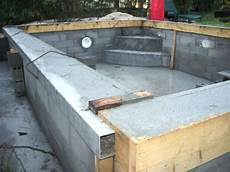 Construire Sa Piscine Hors Sol En Beton La Construction De Piscine 224 Debordement Guide De