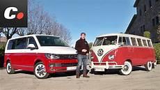 volkswagen multivan t6 quot vs quot t1 prueba an 225 lisis test