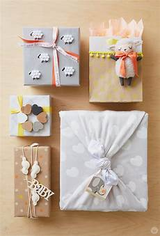 baby gift wrap ideas showered with think make