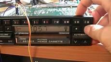 becker mexico cassette silent fm reception