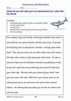 using commas in lists worksheet ks2 kidz activities