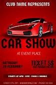 Sport Car Show Flyer Template  PosterMyWall