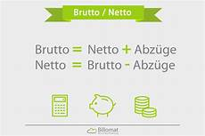 brutto netto was ist brutto netto billomat