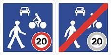 nouveaux panneaux de signalisation code de la route nouveaux panneaux de zone de rencontre
