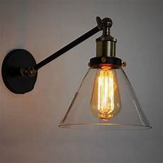 small glass l shades for wall lights