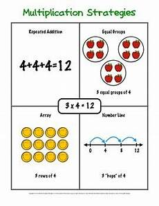 multiplication strategy worksheets grade 3 4815 multiplication strategies packet for special education by growing special seeds
