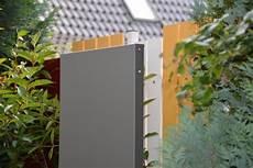 Garten Stelen Metall - stele sichtschutz schmal 180 x 50 x 4 cm aus metall