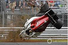 Gallery Ericsson S F1 Crash At Monza