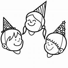 kostenlose malvorlage geburtstag kindergeburtstagsparty
