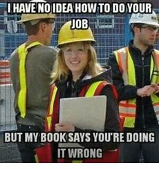 i have no idea how i do it i have no idea how to do your job but my book says you re