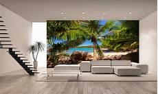 Palm Trees Tropical Wall Mural Photo Wallpaper