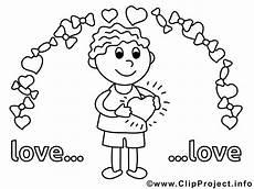 junge verliebt valentinstag bilder zum ausmalen