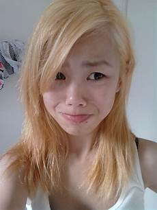 blonde hair color ash light brown over orange lazybumttot my hair bleaching experience