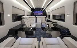 The $400000 Mercedes Private Jet Of Vans