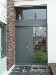 porte d entrée avec tierce porte avec tierce et imposte s 233 rie reynaers cd 50 avec
