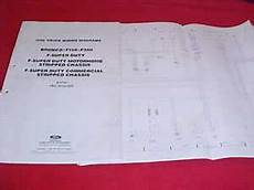 free car manuals to download 1992 ford bronco lane departure warning 1992 ford f 150 250 350 truck bronco electrical wiring diagram service manual 92 ebay