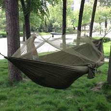 amaca travel portable high strength parachute fabric cing hammock