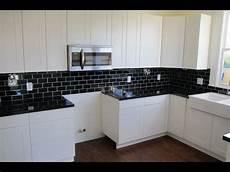 Kitchen Backsplash Black Countertop by Backsplash Ideas For Black Granite Countertops And White