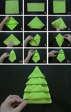 Napkin Folding Tree Marmite Et Ponpon
