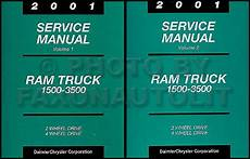 motor repair manual 2001 dodge ram 1500 club engine control 2001 dodge ram truck repair shop manual original gas diesel pickup