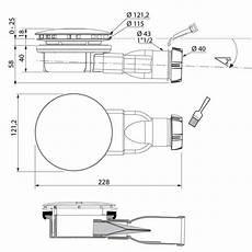 Wirquin Membrane Slim D 244 Me M 233 Tal Pour Receveur Diam 232 Tre