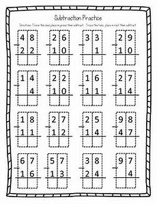 subtraction worksheets without borrowing 10013 subtracting two digit numbers no borrowing by ransdell tpt