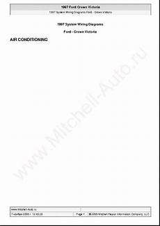 car owners manuals for sale 1997 ford crown victoria engine control ford crown victoria 1997 wiring diagrams sch service manual download schematics eeprom repair