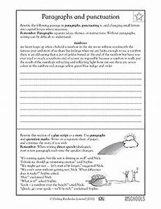 punctuation worksheets in paragraph 20797 4th grade 5th grade writing worksheets punctuating a paragraph writing worksheets paragraph