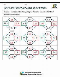printable math puzzles 5th grade