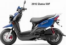 2012 Yamaha Zuma 50f 50cc Yamaha Scooter Motorcycles