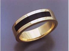 14k Gold & Black Jade Inlaid Ring   Metamorphosis Jewelry