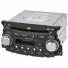 2005 acura tl radio or player radio am fm cass 6cd with navigation and face code 1tb0 oem
