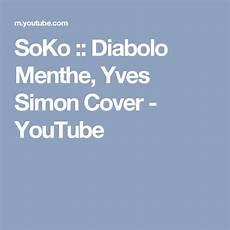Soko Diabolo Menthe Yves Simon Cover