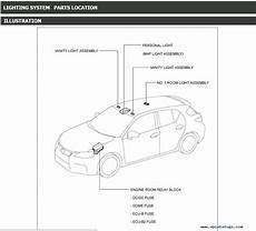 car repair manuals online free 2012 lexus ct lane departure warning lexus ct200h service manual 12 2010 11 2013 pdf download