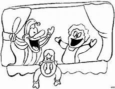 lustiges puppentheater ausmalbild malvorlage comics