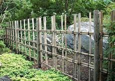 Bambuszaun Einfache Elegante Bambusz 228 Une F 252 R Die