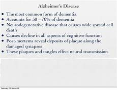 Lesson 8 Dementia And Alzheimer S Disease 2013