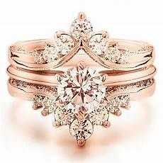 luxury rose gold engagement ring vintage for your wedding 113 femaline