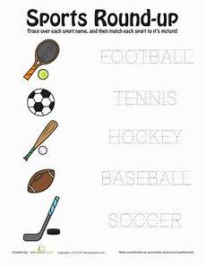 sports worksheets kindergarten 15816 sports up worksheet education