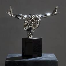 skulptur quot athlets iii quot athlet sportler turmspringer bronze