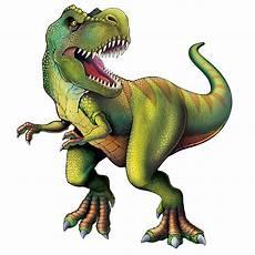 cutout dinosaur tyrannosaurus t rex beistle new