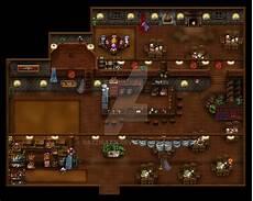 Tavern By Razzirazzi Rpg Maker Maps Rpg