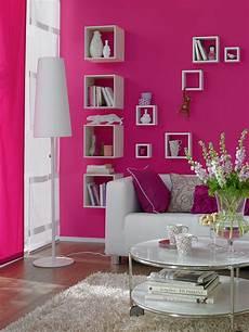Wandfarbe Büro Ideen - pinke wandfarbe bilder ideen