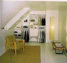 make use of space turn your attic into a closet