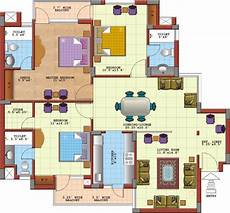 3 bedroomed house plan 7 best 3 bedroom house plans in 3d you can copy