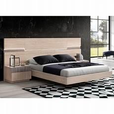 lit design lit design 160x200 cm led bois cbc meubles