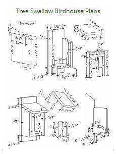 tree swallow house plans birdhouse plans index attract bird families